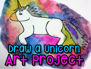 Draw a Unicorn: Art Lesson