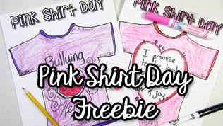 How to Create a Pink Shirt Day Art Project