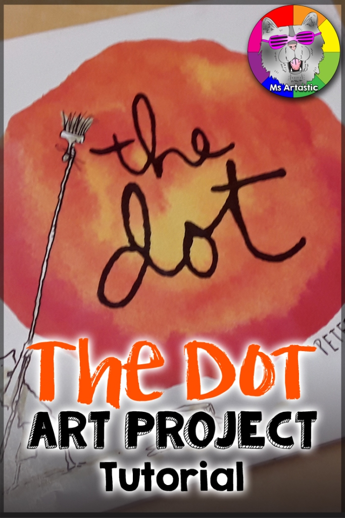dot day, peter h reynolds, peter reynolds, the dot, the dot art project Art Teacher | Art Teacher Resource | Art Projects for Kids | Elementary Art Project | Middle School Art Project | Primary Art Project | Art Teacher Tips | Art Teaching Ideas | Art Education | Ms Artastic | Ms Artastic Resources